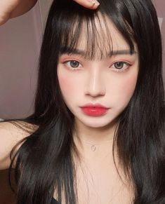 Jung Yoon, Ulzzang Korean Girl, Asian Makeup, Instagram Pose, Jawline, Beautiful Asian Girls, Asian Beauty, Make Up, Grunge Girl
