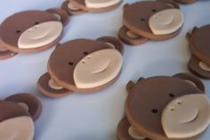 Monkey Cupcake toppers