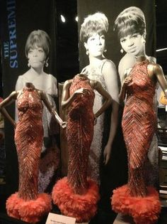 The Supremes ~ Rock and Roll Hall of Fame Museum ~ Cleveland, Ohio