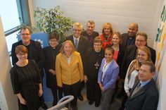 The Evangelical Lutheran Church in America (ELCA) delegation visits LWF in Geneva. #Day296 until the Twelfth Assembly. #Assembly365 #Lutheran