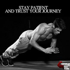 Trust your journey #motivation #corposflex #supplements #fitness #shredded #workout http://www.corposflex.com/en/muscle-infusion-black-5lb-2268g-nutrex-protein