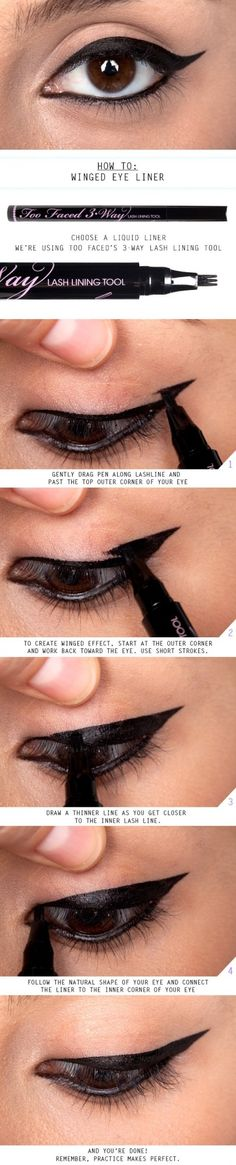 How to: Winged eye