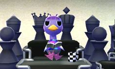 Animal Crossing Happy Home Designer, schach chess
