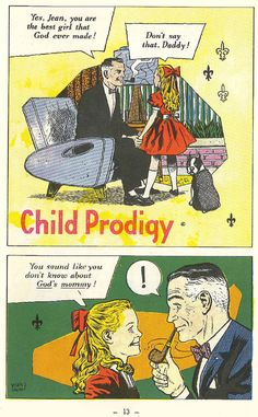 Child Prodigy.  (32 Sparks Of Catholic Truth, comics endorsed by the Catholic Church and written by priests)
