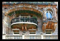 Immeuble Lavirotte (Bigot, avenue Rapp) [1900-01]- Paris VII by RUAMPS ©, via Flickr
