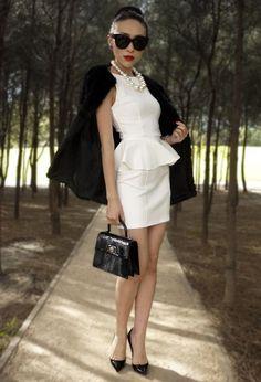 Topshop  Dresses, Louis Vuitton  Bags and Christian Louboutin  Heels
