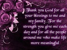 thank you jesus for your blessing | ... Graphics > God Quotes > thank you god for all your blessings Graphic