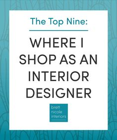 What Stores Do You Shop At As An Interior Designer This Is The