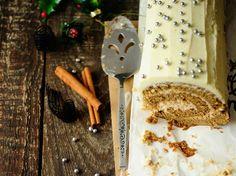 Découvrez la recette Bûche chocolat blanc speculoos sur cuisineactuelle.fr.