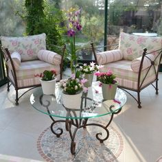 7 best Canapé en fer forgé images on Pinterest | Balcony, Gardens ...