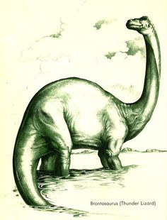Love in the Time of Chasmosaurs: Vintage Dinosaur Art: In the Days of the Dinosaurs - Part 1