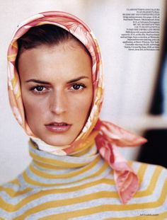 Jacquetta Wheeler by Arthur Elgort for Vogue UK