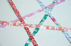 DIY Printed Paper Tape (Washi Tape Tutorial)