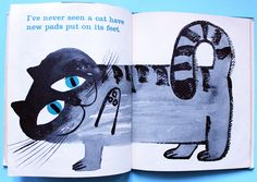 A Fresh Look At Cats illustrated by Sir Abner Graboff in 1963 !!! :) | My Vintage Avenue !!! 50's and 60's illustrations !!!