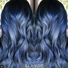 Denim μαλλιά! Το νέο Trend!