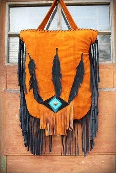 Leather copper rusted navajo southwestern aztec by Caramelka, $90.00