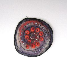 The Rose Felt brooch by MilenaMisheva on Etsy, $20.00
