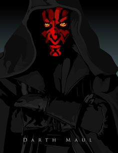 Darth Maul /by ~witchking08 #deviantART #starwars #art
