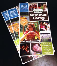 Summer Camp Brochure - Squares by Mackenzie Ruiz, via Behance