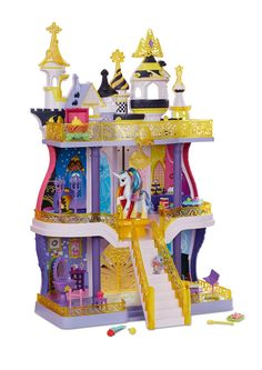 Canterlot Castle Playset with Princess Celestia and Spike