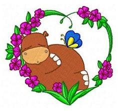 Animal Love 10 - 4x4 | What's New | Machine Embroidery Designs | SWAKembroidery.com Fun Stitch