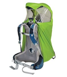 Ivy Green O//S Osprey Poco AG Plus Unisex Hiking Child Carrier Pack