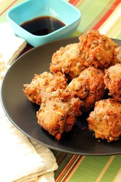 Sprouted Mung Bean and Coconut Fritters