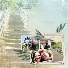 Layout by Lynn Grieveson Designs- I have the perfect pictures for this!