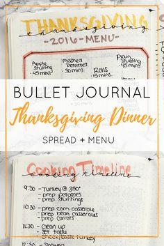 OMG a Thanksgiving Dinner spread!