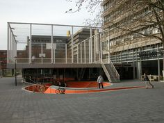Basket Bar and Utrecht University Campus | UNPACKED