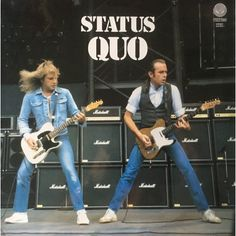 Personalisation, aftercare, out-of-area placements and George Clooney Status Quo Band, Status Quo Live, Blue Soul, Rick Parfitt, Greatest Rock Bands, Progressive Rock, Music Photo, George Clooney, Concert Posters