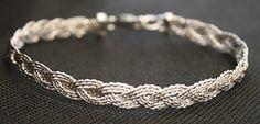 Sterling Silver Turkshead Knot Bracelet