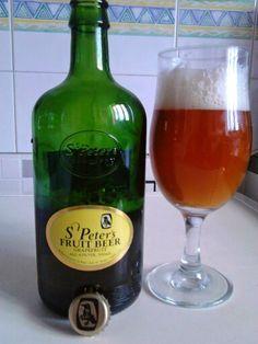 No 68 beer St Peters Fruit Beer (Grapefruit ) from England