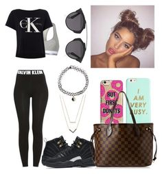 """School"" by lovelyboo-xoxo on Polyvore featuring ban.do, Calvin Klein, NIKE, Agent 18, Louis Vuitton, Christian Dior, Michael Kors and Accessorize"