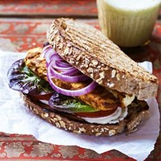 Who said vegetarian sandwiches were boring? Anjum Anand's sandwich will prove them wrong. Get the recipe at Redonline.co.uk