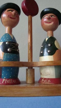 vintage salt and pepper