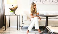 Clean eating: Elle Macpherson detailed her very healthy diet in a new interview