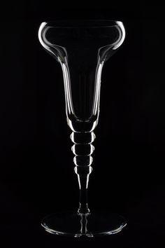 Dark-field lighting - glassware // The Open Window Alumni - Carmen Koetje  www.openwindow.co.za