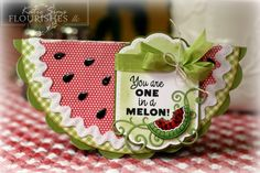 One in a Melon by MattsGirl - Cards and Paper Crafts at Splitcoaststampers