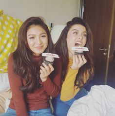 BFF's Nadine and Yassi for Candy Magazine (ctto) Yassi Pressman, Photoshoot Bts, Nadine Lustre, Jadine, Just Friends, My Forever, Bffs, Hashtags, Twitter