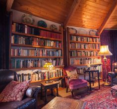 Warm home library