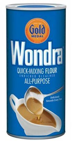 wondra white sauce recipe