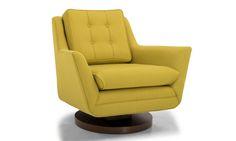 Eastwood Rocking Swivel Chair by Joybird