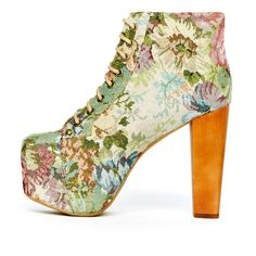 Cold Feet by Jeffrey Campbell 'Lita Tapestry', floral
