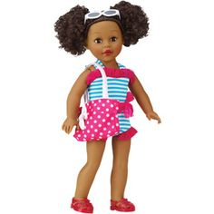 My Life As Beach Vacationer, African American My life girl dolls