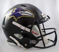 BALTIMORE RAVENS Riddell Revolution SPEED Football Helmet by  www.realhelmets.com.  204.95. Nfl ... eb95d302b0a3