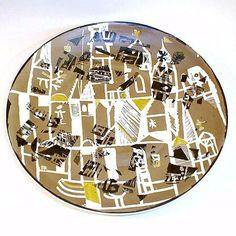 Polish porcelain plate by Wawel F1724