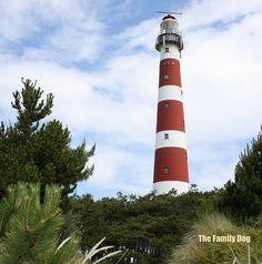 Lighthouse of the dutch island Ameland, Netherlands.