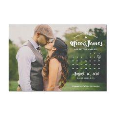 Calendar Nico Save The Date Magnet