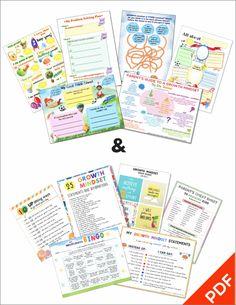 Growth Mindset Printables Kits 1 2 (PDF)